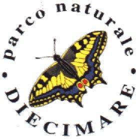 Il logo del Parco Naturale Diecimare