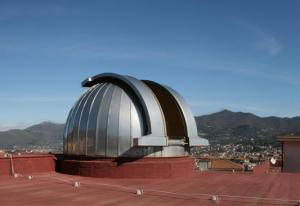 La cupola dell'Osservatorio Astronomico Genoino di Cava de'Tirreni